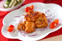 オーブン焼きピリ辛チキン