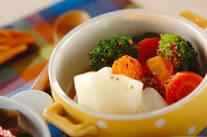 野菜の温サラダ