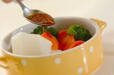 野菜の温サラダの作り方7