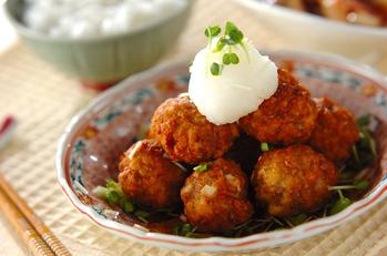 高野豆腐入り肉団子
