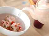 アジの干物のおにぎり茶漬けの作り方2