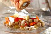 鮭とポテトのフライパンでホイル焼きの作り方5