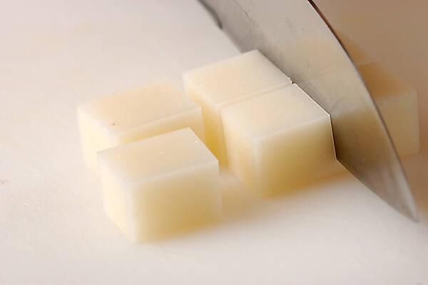 抹茶ミルクぜんざいの作り方の手順1