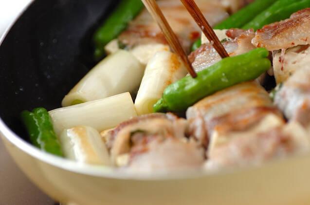 肉巻き豆腐の作り方の手順8