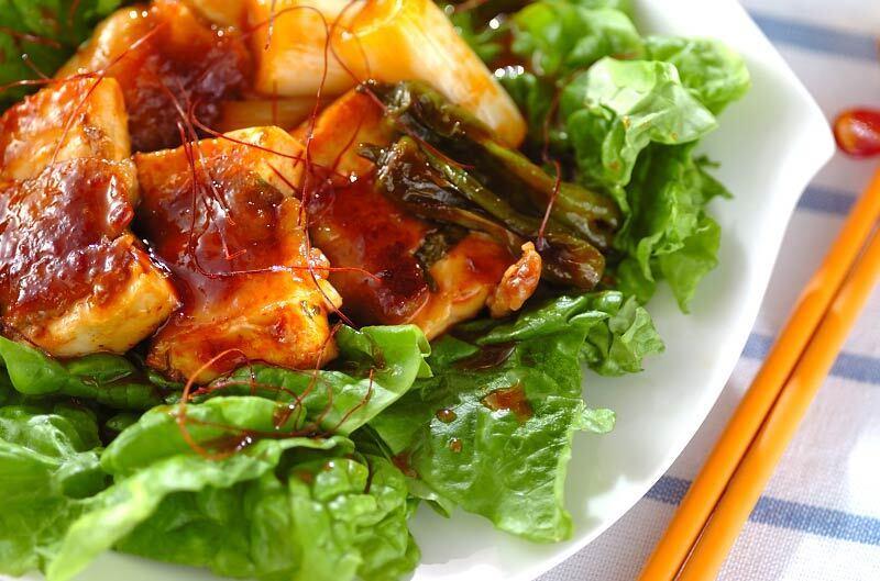 1.豆腐の肉巻き