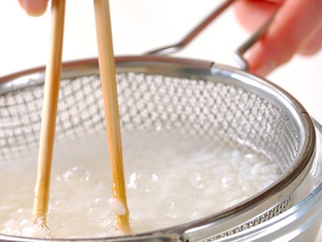 具だくさんの雑炊の作り方の手順1