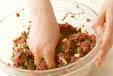 牛ひき肉ペッタンコ焼きの作り方8