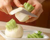 サーモンマリネ クリームチーズのソースの作り方の手順1
