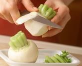 サーモンマリネ クリームチーズのソースの作り方1