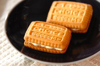 ママレードサンドクッキー