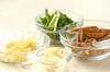 カキのショウガ炒めの作り方の手順2