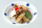 牛肉と玉ネギの炒め物