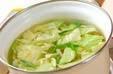 キャベツのゴマ酢和えの作り方1