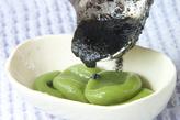 抹茶白玉の黒ゴマみつの作り方2