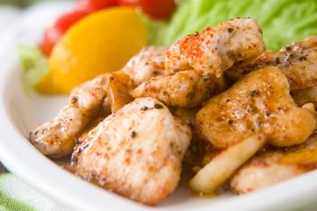 鶏肉のガーリックソテー