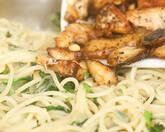 小松菜のスパゲティーニの作り方6