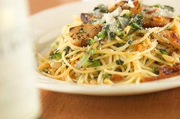 小松菜のスパゲティーニ