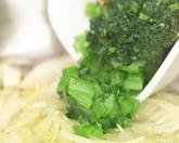 小松菜のスパゲティーニの作り方3
