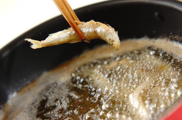 ワカサギのサッパリ南蛮漬けの作り方の手順8