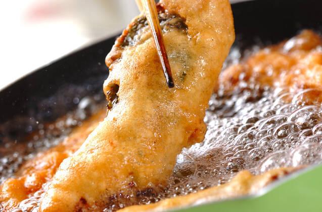 鶏ささ身のフリットの作り方の手順9
