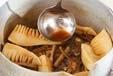 鯛のアラ炊きの作り方4