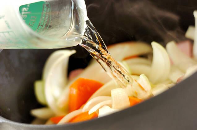 ジャガイモの豆乳煮の作り方の手順7