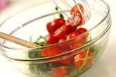 豆苗とトマトの中華和えの作り方5