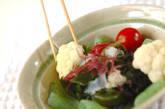 海藻のサラダの作り方1