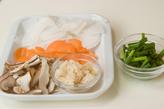 ホタテと卵の汁ご飯の作り方2