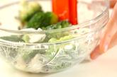 ブロッコリーとオリーブのサラダの作り方1