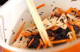 ヒジキとツナの炒め煮の作り方5