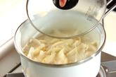 玉ネギポタージュ温玉入りの作り方1