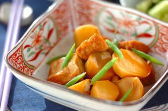 味がしみてる!里芋と厚揚げのシンプル煮