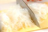糸コンニャクのナメタケ炒めの下準備1