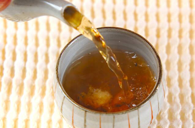 梅入りショウガ茶の作り方の手順3