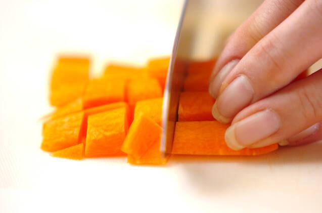 ジャガイモのバジル和えの作り方の手順1