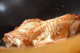 鶏肉のレモンソテーの作り方5