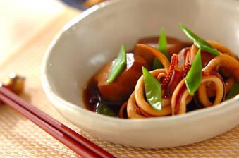 簡単おいしい!里芋とやわらかイカの煮物