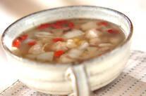 コロコロチキンのスープ