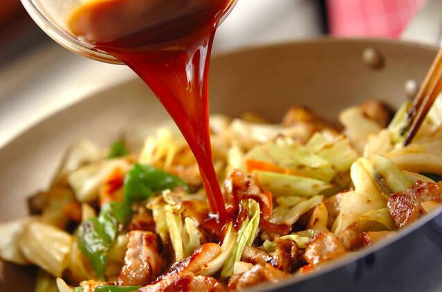 豚肉のソース炒めの作り方の手順9