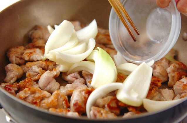 豚肉のソース炒めの作り方の手順7