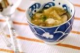 くずし豆腐のスープ