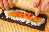 細巻き寿司の作り方11