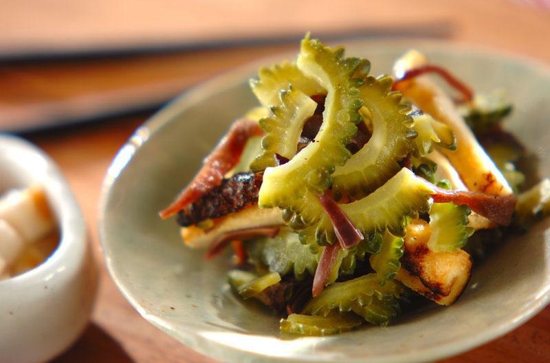 ゴーヤとキクラゲのサラダ