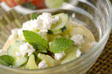 緑のヨーグルトサラダ
