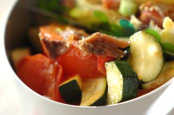 ズッキーニのトマト煮