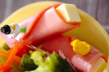ハムのチーズ巻き