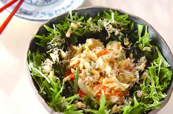 京風納豆サラダ