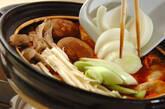 餃子入りキムチ鍋の作り方11