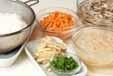 根菜の炊き込みご飯の下準備4
